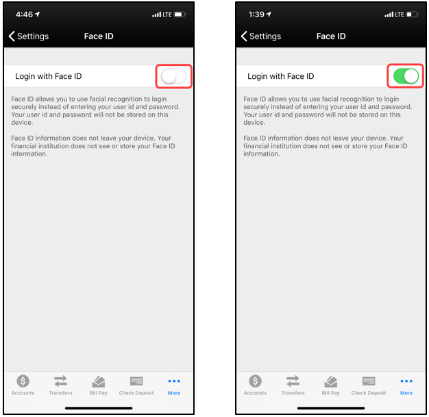 How to reset your Mobile Banking app password and your fingerprint
