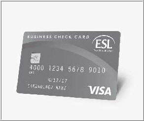 Business debit card esl chip technology small feature big securitylearn more colourmoves