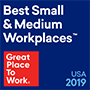 Great Place to Work Medium 2019 logo